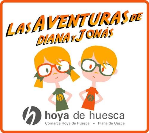 Hoya de Huesca en familia