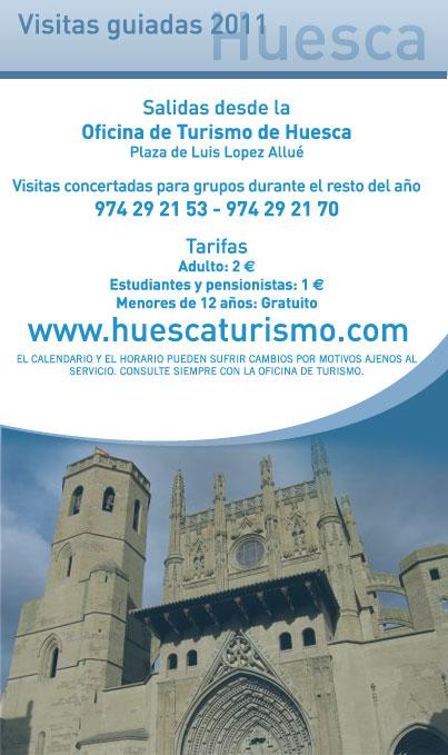 Visitas guiadas Huesca ciudad
