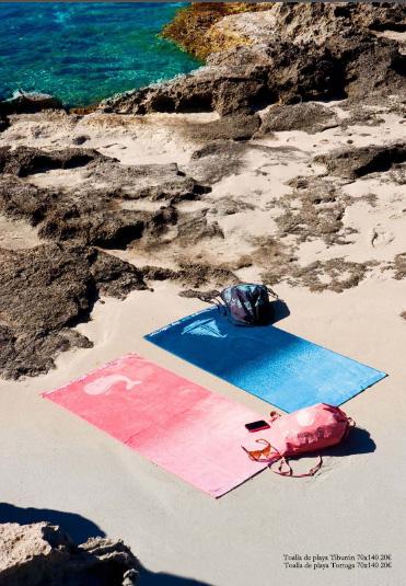 Toallas y bolsas de playa Textura Kids