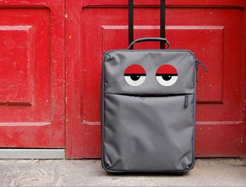 Pegatinas para personalizar las maletas