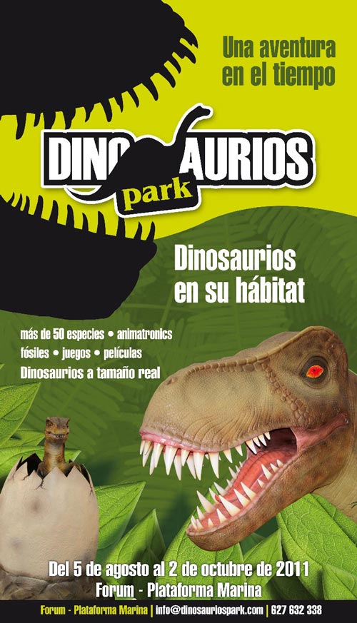Dinosaurios Park en Barcelona