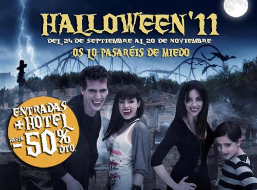 Halloween en Portaventura 2011