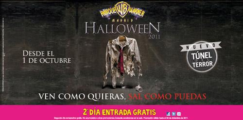Halloween en Parque Warner 2011