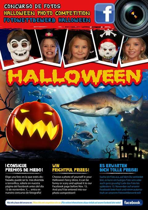 Concurso Halloween en Palma Aquarium de Mallorca