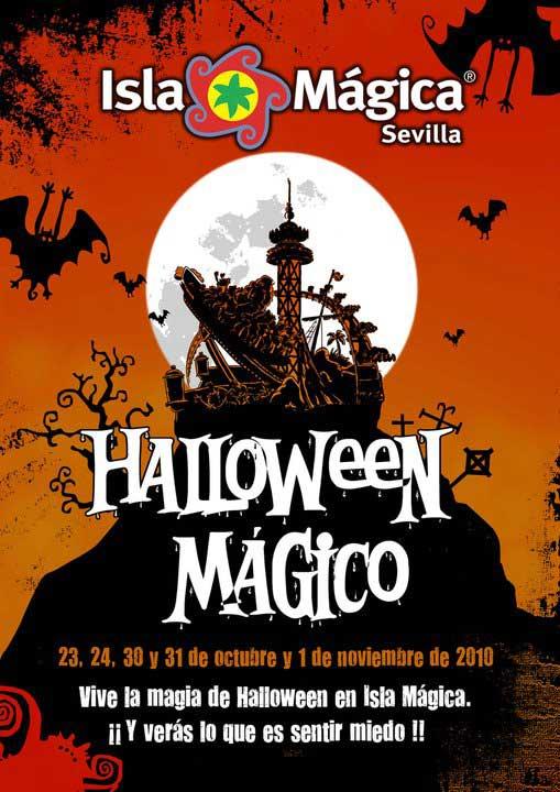 Isla Mágica se viste de Halloween