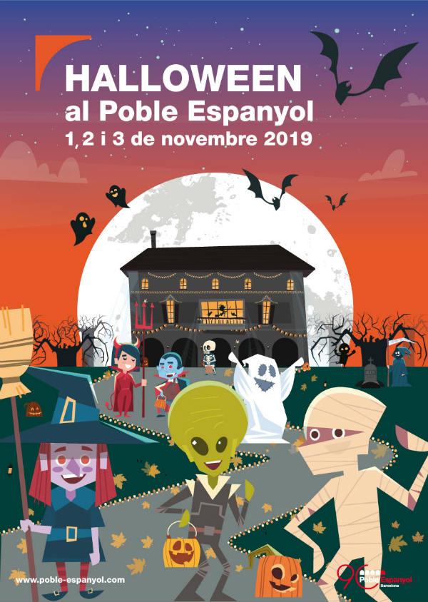 Fiesta Halloween en Poble Espanyol