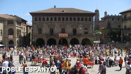 Fiesta de la Castañada en Poble Español