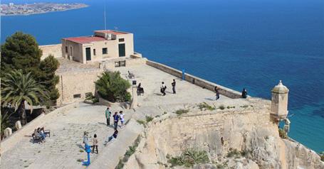 Visitas guiadas al Castillo de Santa Bárbara Alicante
