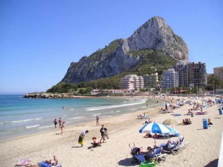 Calpe, destino turístico de vacaciones en familia