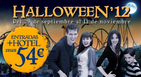 Portaventura oferta estancias Halloween'12