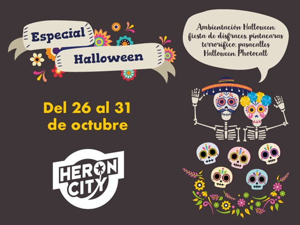Halloween en Heron City Valencia