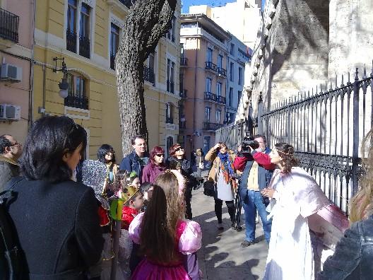 Visita guiada Caballeros y Princesas en Valencia
