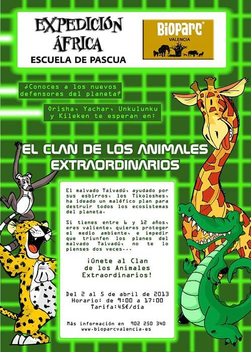 Bioparc Escuela de Pascua 2013