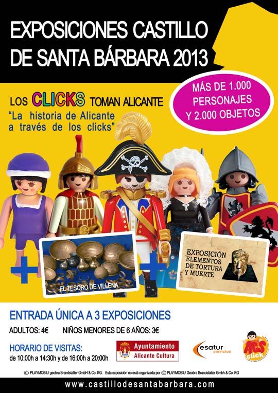 Exposición: Los Clicks toman el Castillo