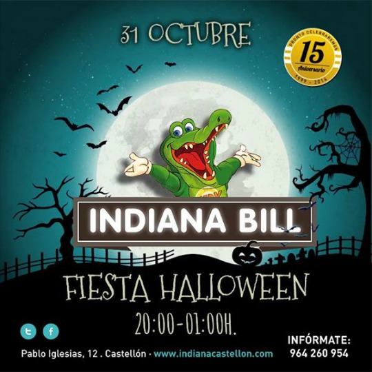 Indiana Bill Castellon - Halloween 1