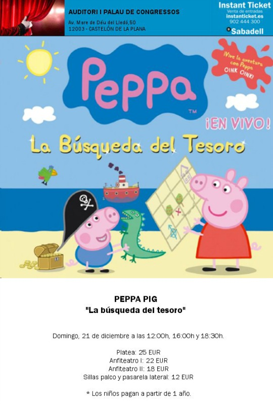 Peppa Pig en Castellón