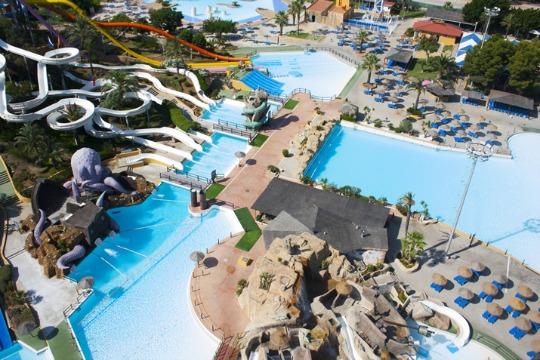 Parque acuático Aquarama 15