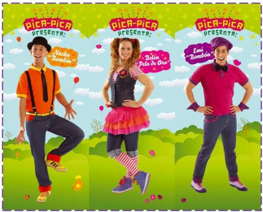 Pica Pica Musical niños 3