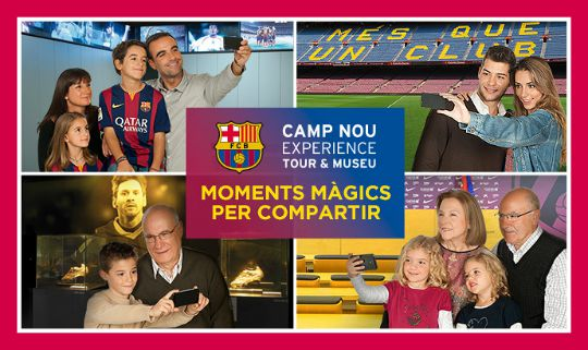 Camp Nou – Tour y Museo