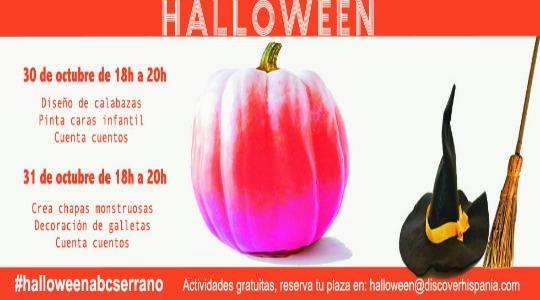 Actividades gratuitas en Halloween 2015