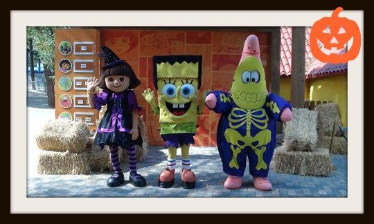Halloween en Parque de Atracciones Madrid 1