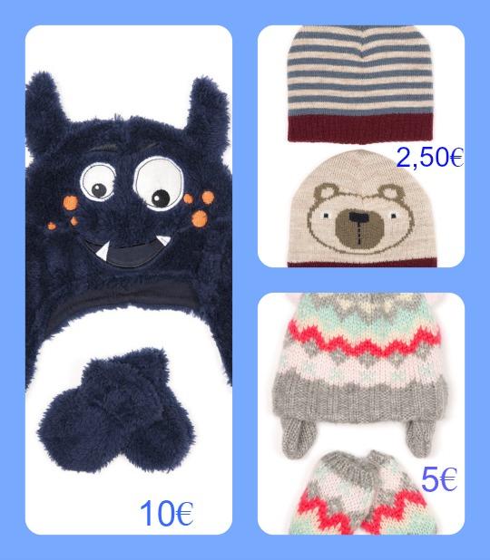 gorros, guantes, bufandas para niños 5