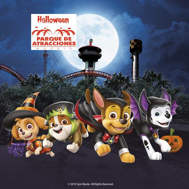 Halloween en Parque de atracciones Madrid