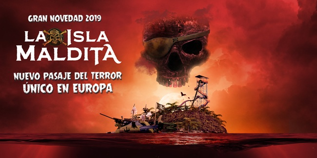 La Isla Maldita Halloween Portaventura