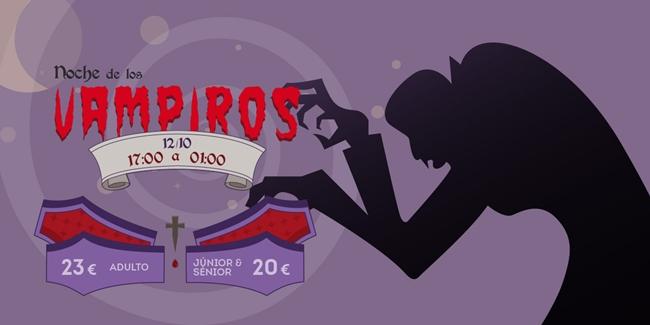 Noche Vampiros Halloween 2019 PortAventura