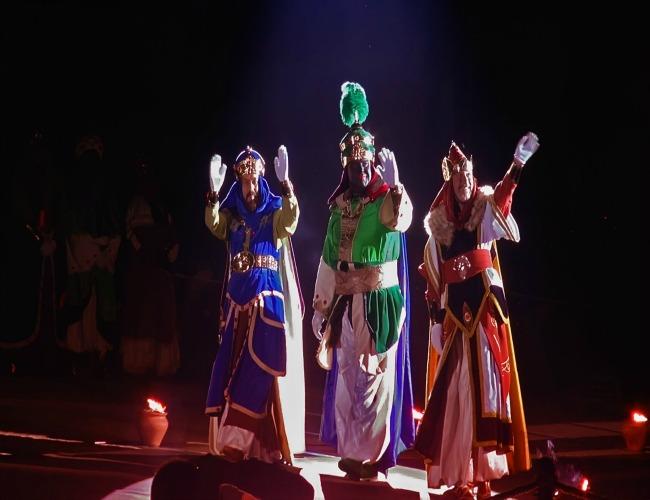 Cabalgata de los Reyes Magos en Alcoy
