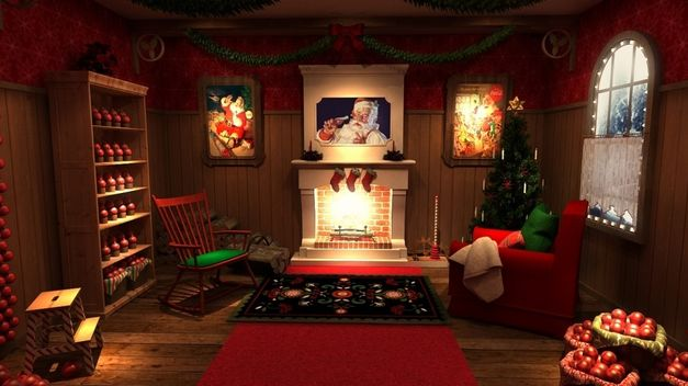 Visita la casa de Papá Noel en Madrid.