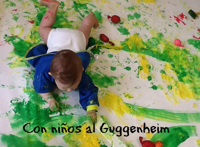 Con niños al  Guggenheim
