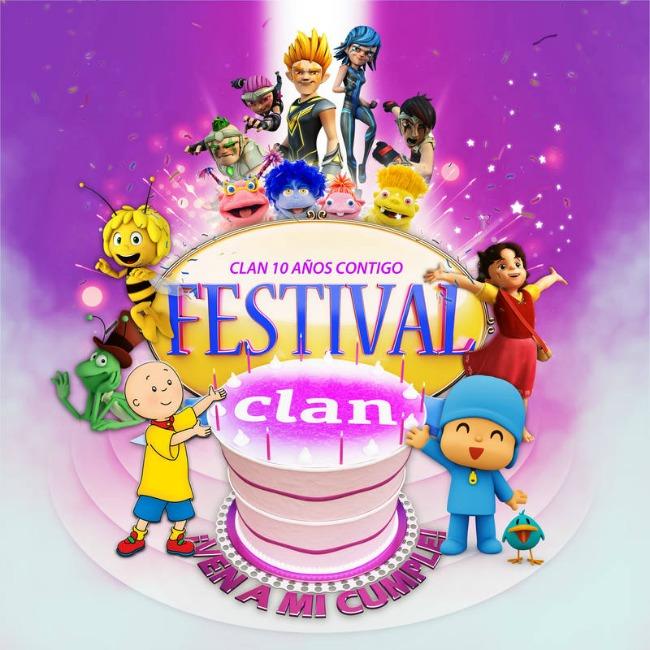 FESTIVAL CLAN EN CASTELLON