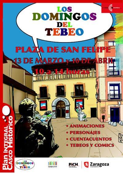 Domingo del TBO en Zaragoza