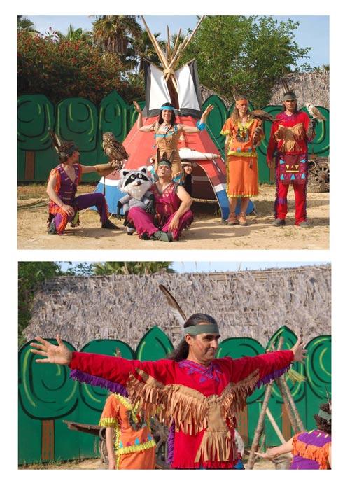 Musical de Pocahontas en Terra Natura (Benidorm)