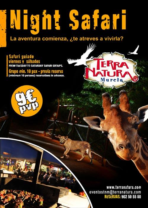 Safari nocturno en Terra Natura (Murcia)