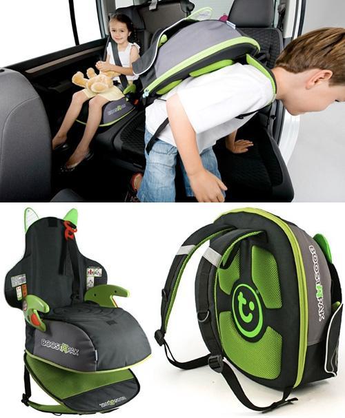 Boostapak, asiento elevedor y mochila