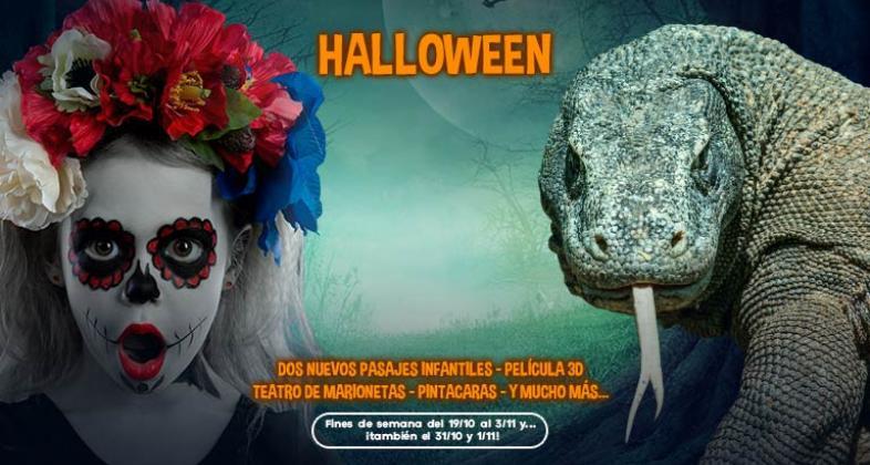 Celebra Halloween en Faunia