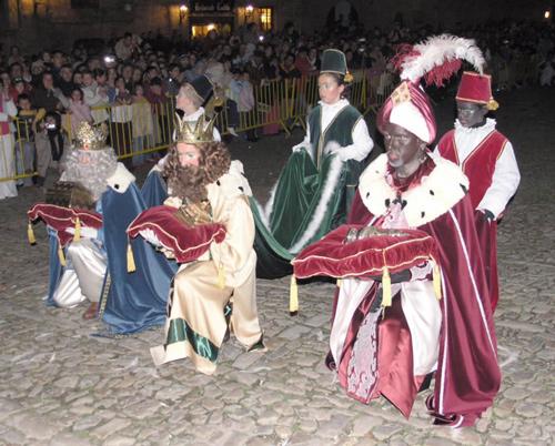 Noche mágica de Reyes en Paradores