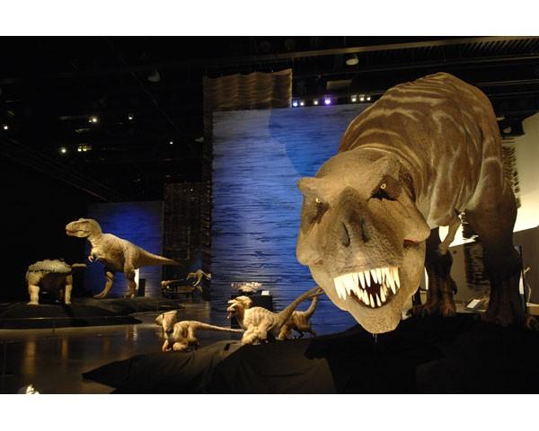 T-Rex en el Parque de las Ciencias de Granada
