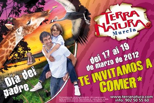 Celebra el Día del Padre en Terra Natura Murcia