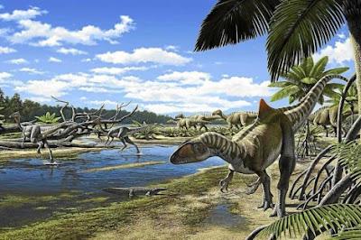 Exposición Dinosaurios en la Península Ibérica