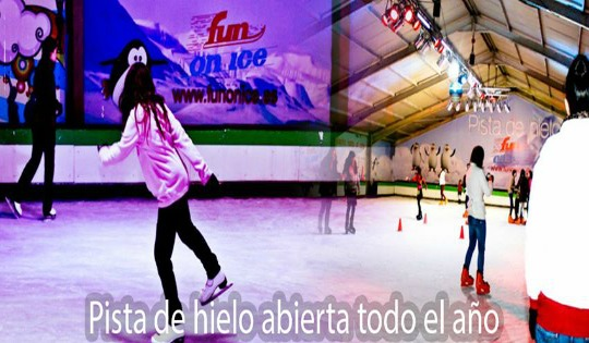 Patinar sobre hielo-Valencia 3