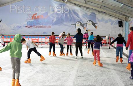 Patinar sobre hielo-Valencia 4