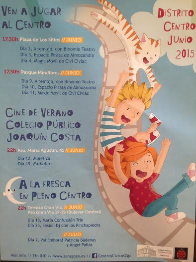 Actividades para niños verano 2015