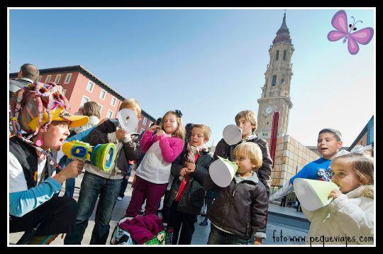 Conocer Zaragoza con niños
