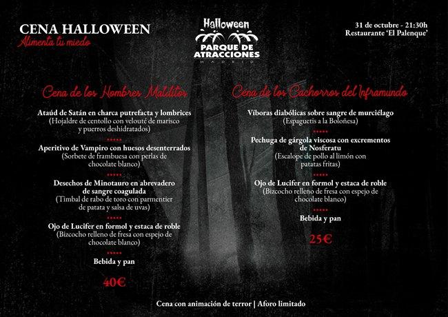 Cena especial Halloween