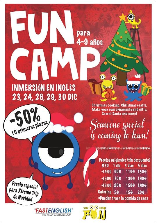 Campamentos para Navidad 2015