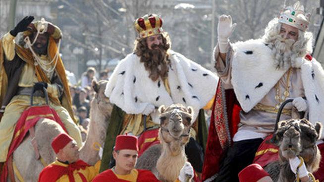 Cabalgata de Reyes-Horarios