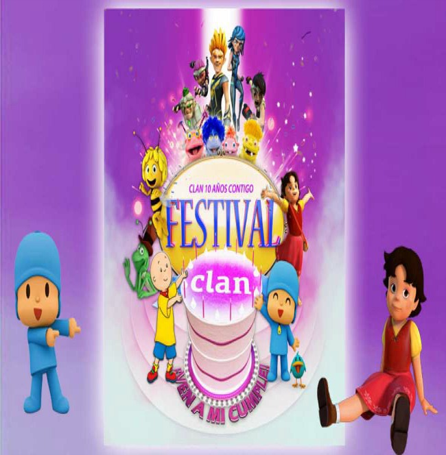 Festival Clan-próximas actuaciones